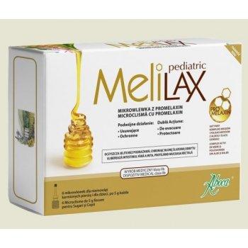 Aboca MeliLAX Pediatric mikrowlewka na zaparcia dla dzieci
