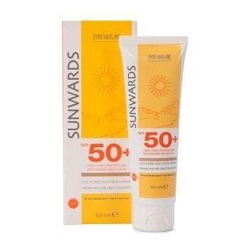Sunwards Krem Koloryzujący z filtrem SPF 50+ bardzo wysoka ochrona i nawilżenie skóry twarzy SYNCHROLINE