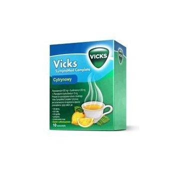 VICKS SymptoMed Complete 10 saszetek leku na przeziębienie i grypę