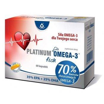 PLATINUM OMEGA-3 fish wysokie 70% stężenie rybich kwasów omega-3