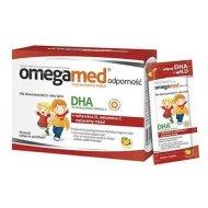 Omegamed Odporność syrop w saszetkach wzmacniający odporność z naturalnym DHA