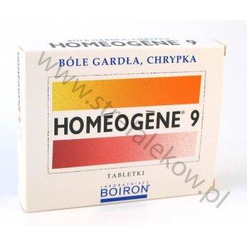 Homeogene 9 ból gardła