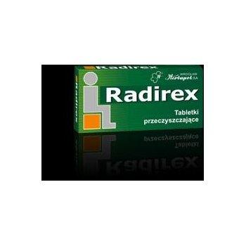 Radirex tabletki z rzewienia przeczyszczające