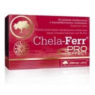 Chela-Ferr Pro-Effect wysoko przyswajalne żelazo z kwasem foliowym i witaminą B6 i B12 Olimp