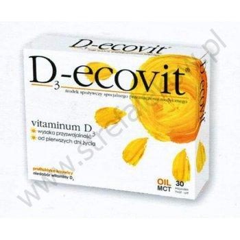 D3-Ecovit naturalna witamina D3 dla dzieci od pierwszego dnia życia i dorosłych