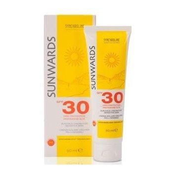 Sunwards Krem do skóry wrażliwej z filtrem SPF 30 wysoka ochrona skóry twarzy SYNCHROLINE