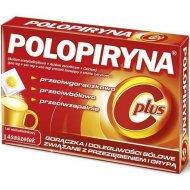 Polopiryna C Plus 14 saszetek przeciw objawom grypy i przeziębienia
