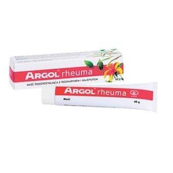Argol Rheuma maść na mięśnie i stawy łagodnie rozgrzewająca