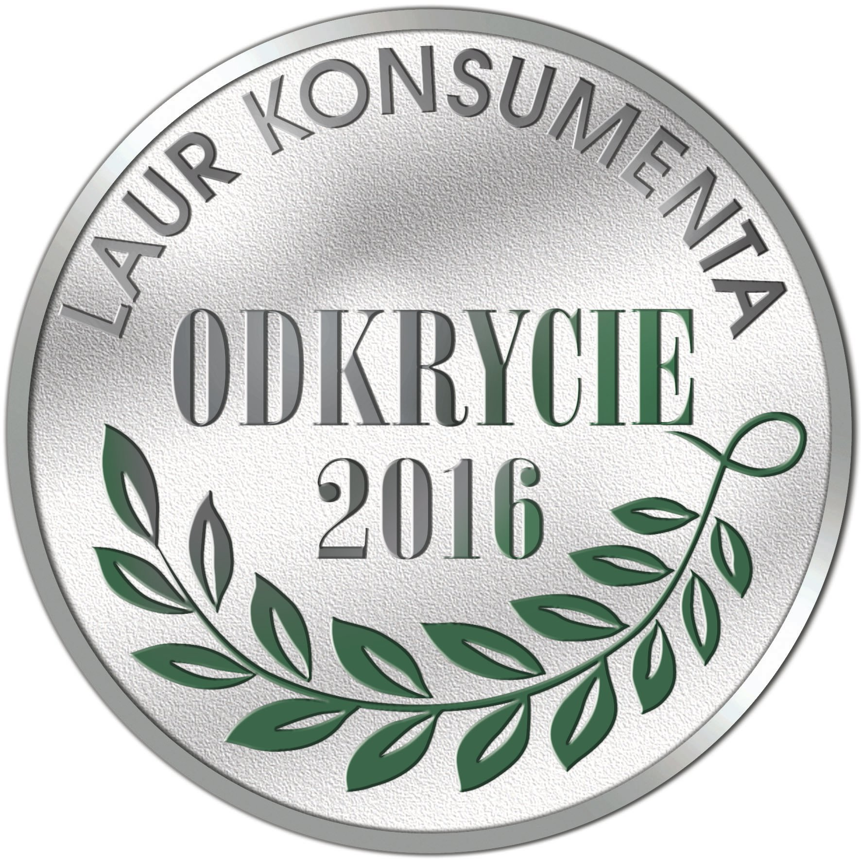 Logo laur konsumenta odkrycie 2016