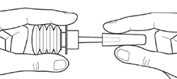 Melilax Aboca sposób użycia krok 2