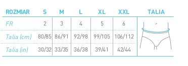 protechdry tabela rozmiarow