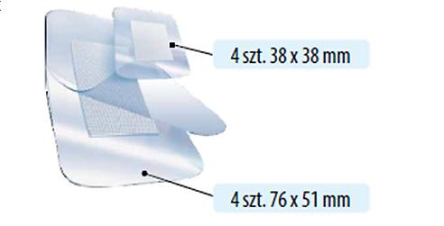 wielkosci plastra wodoodporny max